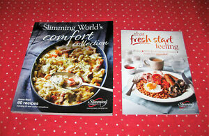 New Slimming World Cookbook Comfort Collection Recipes + 28 Day Menu Planner