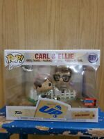 NYCC 2020 Funko Pop Disney Pixar's UP Carl And Ellie Shared Sticker In Hand