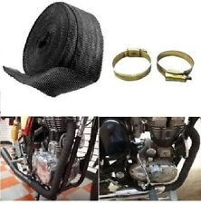 Silencer Wrap With Clip Bike Exhaust Heat Shield For Royal Enfield Bullet