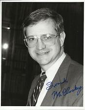 Frank McCloskey - U.S. Representative Original Autographed 7x9 Signed Photo