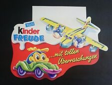 """Original Palettenanhänger """"Spielzeug"""" Deutschland 1996 Maxi Ei"""