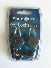 Samsonite Key Locks - Set of 2 - Suitcase locks - Travel Holiday