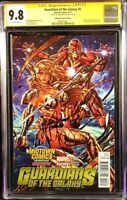 GUARDIANS OF THE GALAXY #5 CGC SS 9.8 MARK BROOKS IRON MAN ANGELA THANOS ENDGAME