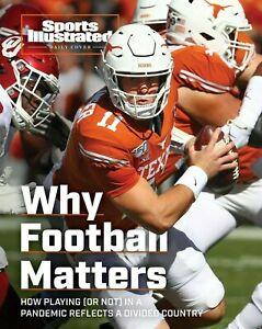 Sam Ehlinger Texas Longhorns Sports Illustrated cover Photo - select size