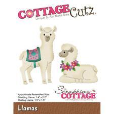 LLAMA Llamas Die Steel Craft Die Cutting Dies COTTAGE CUTZ CC445 New