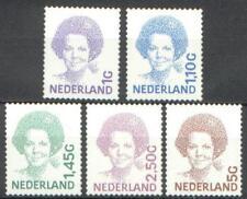 NVPH nr.1491b-1501b Beatrix inversie zelfklevend 2001