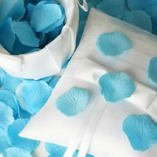 New Silk Flower Rose Petals Table Confetti Turquoise ~ Set of 2 ~ Wedding Party