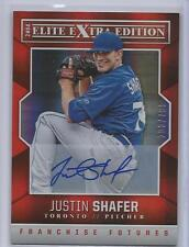 JUSTIN SHAFER rc Auto 2014 Elite Extra Edition Blue Jays 203/799 Autograph