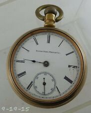 Antique 1889 Elgin National Watch Co Pocket Watch