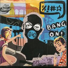 CD ALBUM DIGIPACK 13 TITRES--BANG ON--SIC---2012--NEUF