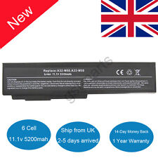 Laptop Battery for Asus A32-N61 A32-M50 A33-M50 A32-X64 M50 N61J N53S X64 UK