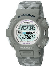 Used Casio G-Shock G-9000MC-8 Rare Mens Watch Diver Mudman Gray G-9000 G-9000MC