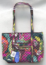 Vera Bradley Iconic Small Tote Handbag Bag Autumn Leaves 22164-l10