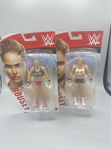 2 - 2019 WWE Ronda Rousey Series 105 Basic  Figures Mattel Chase And Common New!