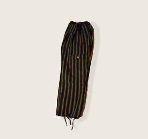 Pants rasta for man. Size L. Made in Ecuador.