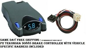 90885 Tekonsha Brake control with Wiring Harness 3016 FOR 2014-2018 GM