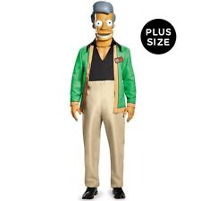 MENS The Simpsons DELUXE Adult Apu Kwik E Mart Costume PLUS SIZE XXL, 2XL 50-52