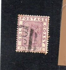Gold Coast QV SG7 used stamp