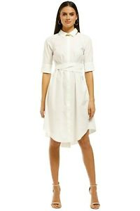 Saints the Label Avignon Pleat Dress Size 12