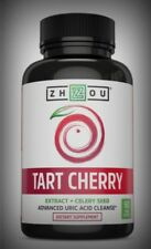 Potent 2-in-1 Uric Acid Cleanse Tart Cherry & Celery Seed Joint Muscle Antioxida
