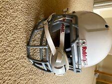 Riddell Victor White Football Helmet Adult Size Medium