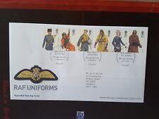 GB 2008 FDC RAF UNIFORMS - HENDON PMK