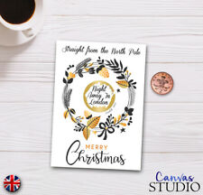 Personalised Christmas Surprise Scratch Off Cards Presents Xmas Festive Novelty