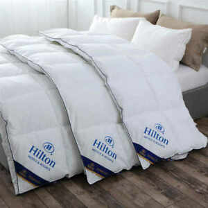 [King Size] Comforter feather fabric Hilton Quilt