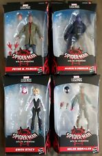 *Marvel Legends*Lot Of 4*Spider-Man*Into The Spider-Verse*Hasbro*2021*NO BAF*