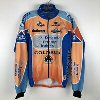 Biemme Technical Sportwear Mens Cycling Jacket Small Long Sleeve Colnago Italy