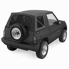 1986-1994 Geo Tracker Soft Top with Tinted Windows Black Denim