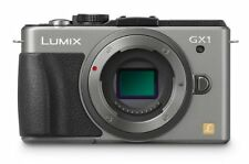 Panasonic Lumix DMC-GX1 16.0 MP Digital Camera - Silver/Black (Body Only)