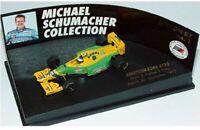 MINICHAMPS 510 938705 BENETTON FORD B193 M Schumacher F1 model car 1993 1:87th