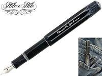 Kaweco AL Sport Stonewashed Black | Penna Stilografica Nera | Fountain Pen