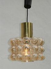 vintage 70er J. Limburg Bubble Glas Lampe / Deckenlampe