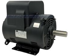 Heavy Duty 75hp 3450 Rpm Single Phase 213t Frame Compressor Electric Motor