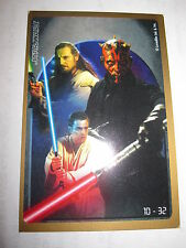 STAR WARS EPISODE 1 CRAZY PLANET MEGA STICKERS 10/32 MAUL QUI-GON MINT/NEAR MINT