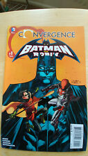 Batman and Robin Convergence # 1 (of 2) June 2015 DC - VF+