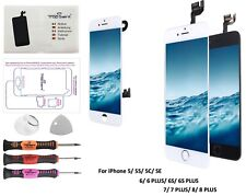 Écran iPhone 5/5S/5C/SE/6/6S/7/8 Plus⭐Display LCD⭐Kit Réparation Vitre Tactile⭐