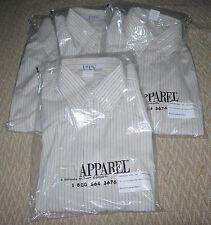 UTY Button down dress shirt Yardley Stripe Butter New