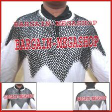 Medieval Chainmail Aventail Chainmail Aventail Larp Reenactment Armor Costume