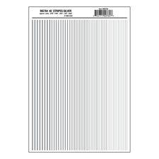 Stripes Silver Dry transfer Sheet – Woodland Scenics MG764 - free post F1