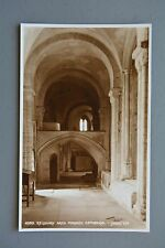 R&L Postcard: Norwich Cathedral Interior Arch, Judges