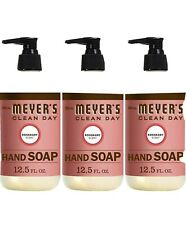 Mrs. Meyers Clean Day Liquid Hand Soap 3 Scent Variety Pack, 12.5 oz Each