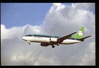 Orig 35mm airline slide Aer Lingus 737-400 EI-BXB [212-2]
