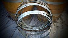 Used Wine Barrel Hoop Bands - Dozen (12)