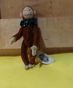 "GANZ Miniature 4"" MAX MONKEY JOINTED Cottage Collectibles Lorraine Chien NWT EXC"
