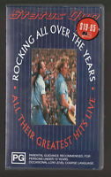STATUS QUO ROCKING ALL OVER THE YEARS VHS VIDEO PAL~ A RARE FIND