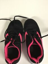 little girls tennis shoes brand unknown size 1 color multi in good shape