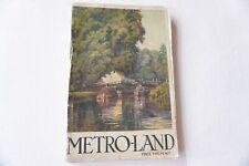 More details for 1931 metro-land metro land metropolitan railway tube underground guide book